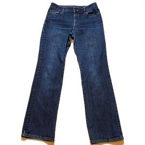 Chico's Platinum Ultimate Fit Boot Leg Jean